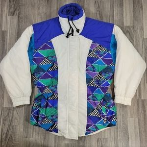 Vintage Women's Snuggler Ski Jacket Size 12